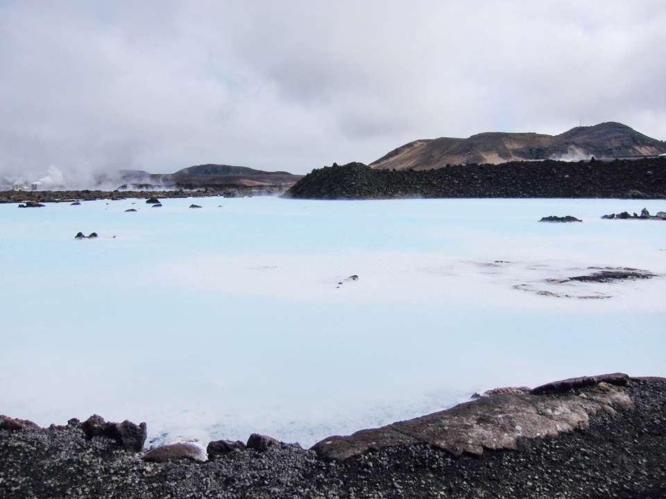 The geothermal water originates 2,000 metres below the surface, where freshwater and seawater combine at extreme temperatures.